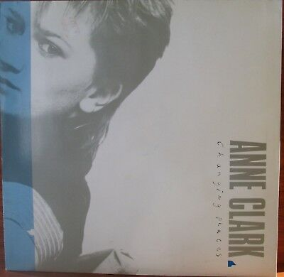 Lp-  Anne Clark = Changing Places - Mit Songtexte ...1984 (Synth - Pop /electro)