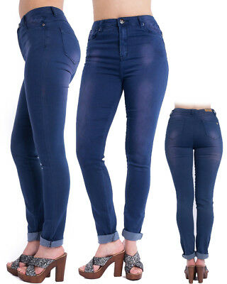 **HUGE SALE** High Waisted Faded Fashion Denim Jeans Ladies Pants Girls Trousers