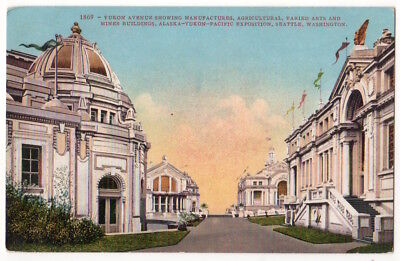 1909 Alaska-Yukon-Pacific Exposition Manufacturing, Agriculture, Mining Bldgs.