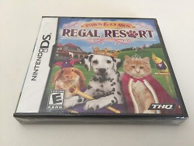 Paws & Claws: Regal Resort (Nintendo DS, 2010) DS NEW