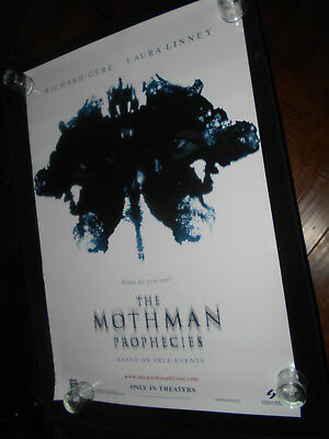 The Mothman Prophecies  Horror Original Rolled One Sheet  Poster White Style