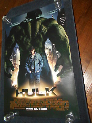 The Incredible Hulk  Original Rolled One Sheet Poster Regular  Double Sided