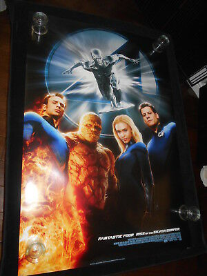 Fantastic Four Rise Of The Silver Surfer    Original Rolled One Sheet Poster DS