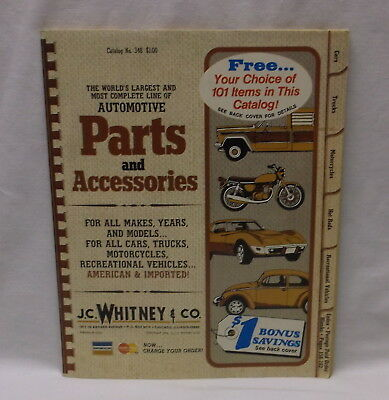 1976 Jc Whitney J.c. Whitney Automotive Parts And Accessories Catalog No 348