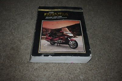 1993 1994 1995 Honda GL1500 repair manual Clymer SE Aspencade Interstate cycle