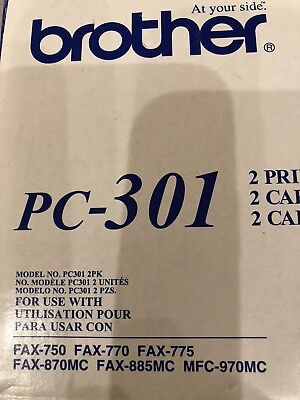 Brother PC-301 Fax/Printer Cartridge