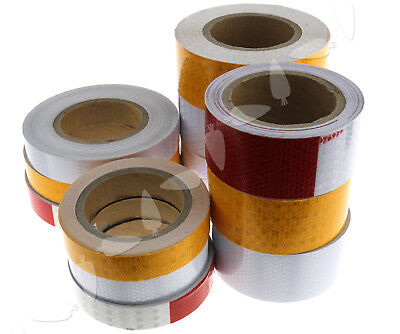 4 Size Roll Self-Adhesive Roll Reflective Safety Warning Conspicuity Tape