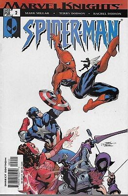Marvel Knights: Spider-Man No.2 / 2004 The Avengers / Mark Millar & Terry Dodson