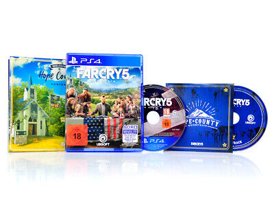(B) PS4 Spiel - FAR CRY 5 - Deluxe Edition - Action Ego-Shooter DEUTSCH