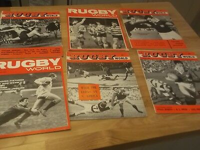 20 Rugby World Magazines From 1960 Onwards Includes 1962 Lions Tour South Africa