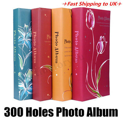 6 x 4 Holds 300 Photos Memories Slip In Photo Album Wedding Picture Storage Book