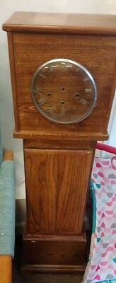 Longcase Clock vintage look - project piece - spares and repairs -