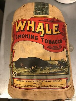 Whale Smoking Tobacco From 1926