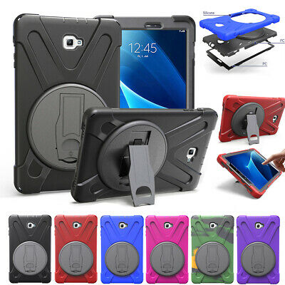 For Samsung Galaxy Tab A 8.0 9.7 10.1 Heavy Rubber Shockproof Cover Armor Case
