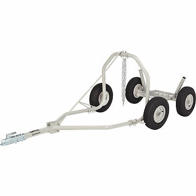 Strongway ATV Log Skidding Arch and Holder-1,000Lb. Capacity,24in.Dia.Capacity
