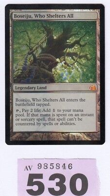 MTG Magic the Gathering - Boseiju Who Shelters All - Foil  From the Vault Realms