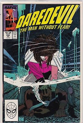 Marvel Comics Daredevil #256 (Typhoid Mary)  Mint Never Been Read