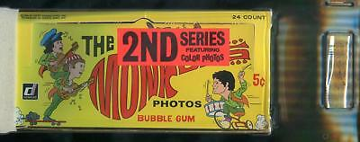 1967 Donruss The Monkees 2nd Series 5-Cent Display Box GAI 8.5 (NM-MT+)