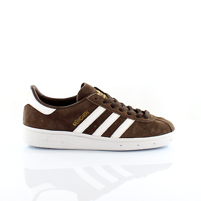 Adidas Originals Munchen Mens Trainers Lace Up Shoes Brown BY1722 M14
