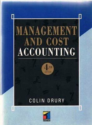 Management Cost Accounting: Fall 1996 by COLIN DRURY Paperback Book The Cheap