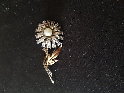 ancienne broche en metal