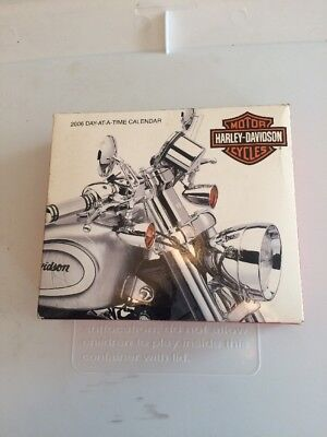 Harley-Davidson Calendar   2006 Day-at-a-time Calendar