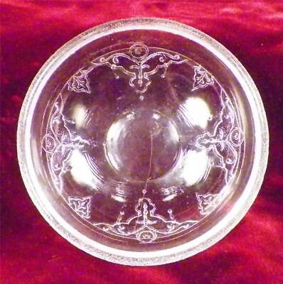 Antique Tidy Berry Sauce Bowl McKee Bros Early American Pressed Glass EAPG