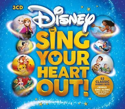 DISNEY SING YOUR HEART OUT 3 CD SET VARIOUS ARTISTS (Released October 19th 2018)