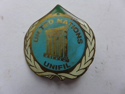 insigne UNITED NATIONS   UNIFIL