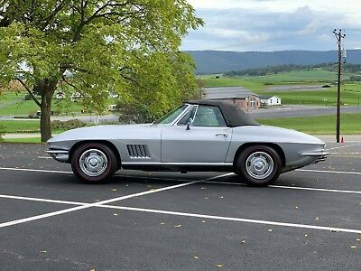 1967 Chevrolet Corvette 427 Black Mcacn Limited 1002pc 118