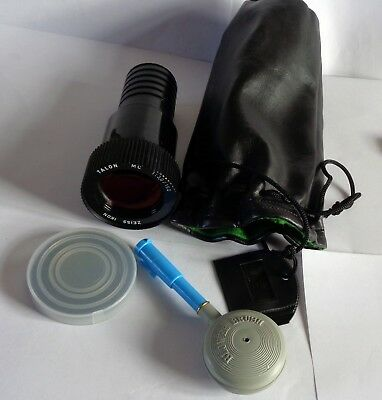 Zeiss Ikon Talon 1:3,0/150 Projector Lens + Quartzline Lamp, Pygmy Bulb  Bag,