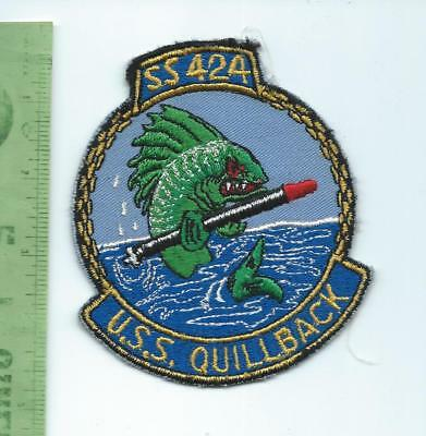 US Navy USN USS Quillback SS 424 Submarine   patch