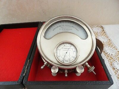 Appareil Medical Ancien.sphygmometre Oscillometre Pachon E.spengler Collection
