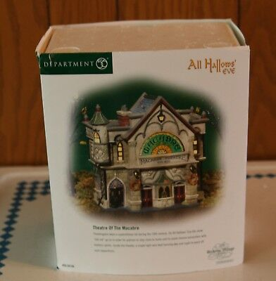 Department 56 Dickens Village All Hallows' Eve Macabre Theater