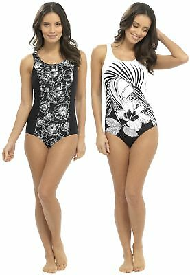 6021ee2e82 TOM FRANKS BANDEAU Swimsuit with Tummy Control - $25.36 | PicClick
