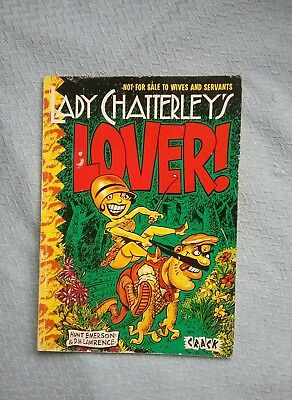Lady Chatterley's Lover Graphic Novel By Hunt Emerson. Knockabout Comics 1986
