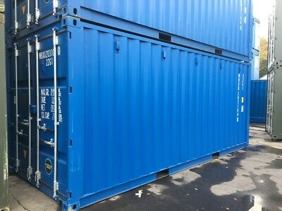 20Ft Iso Shipping Container - Swansea South Wales - New One Trip Iso Containers