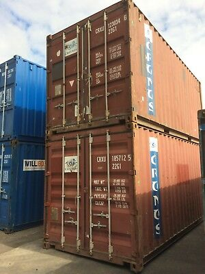 20Ft Iso Shipping Container -  Swansea South Wales - Used Iso Containers