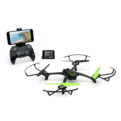 Sky Viper Scout Live Streaming Video Camera RC Drone Quadcopter & Battery Pack