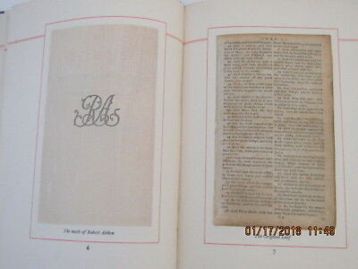 An Original Leaf From the Bible of the Revolution & An Essay Concerning It