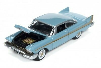 1958 Plymouth Fury  **RR** Auto World Muscle 5D ltd. 1:64 OVP