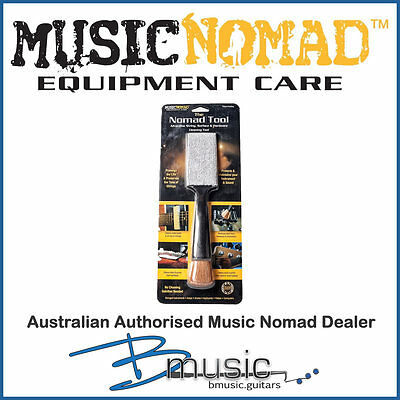 Music Nomad All-In-One Cleaning Tool - 100% lint free microfiber pad