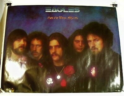 Eagles-One Of These Nights-ORIGINAL 1975  30x23 Poster!