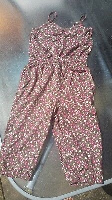 H&M girls playsuit age 2-4 years