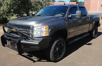 2014 Chevrolet Silverado 2500 LTZ 4x4 Duramax Diesel RANCH HAND BUMPERS Heated Leather Memory Seats TOW COMMAND Dual Zone Climate