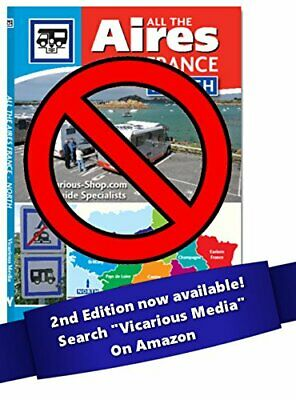 All the Aires France North 2015 by Vicarious Media Book The Cheap Fast Free Post