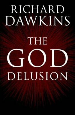 The God Delusion by Richard Dawkins Hardback Book The Cheap Fast Free Post