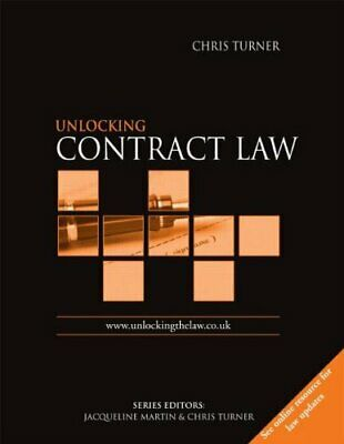 Unlocking Contract Law (Unlocking the Law) by Turner, Chris Paperback Book The