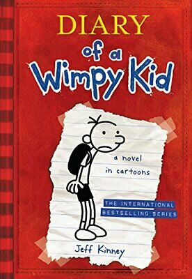 Diary of a Wimpy Kid 01: A Novel in Cartoons by Kinney, Jeff Book The Cheap Fast