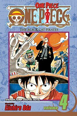 One Piece Volume 4 by Oda, Eiichiro Paperback Book The Cheap Fast Free Post
